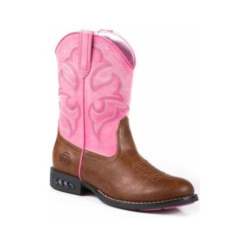 dd5b8e6c28f Roper Boot - Children's/Toddler - Lightning - Pink
