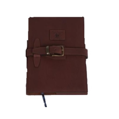 Leather A4 Diary Cover With Straps